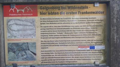 Infotafel am Galgenberg